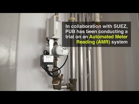 Automated Meter Reading (AMR) Trial - YouTube
