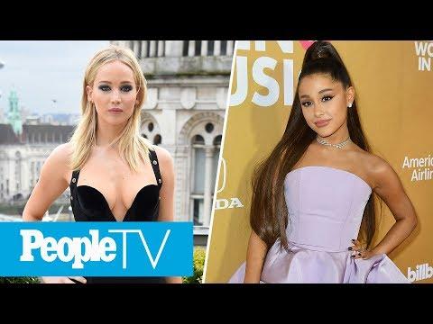 Ariana Grande Is Not Attending Grammys, Jennifer Lawrence's