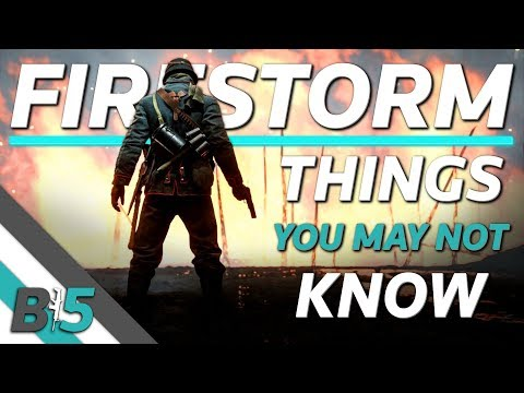 Battlefield V Firestorm | Things You May NOT Know! thumbnail