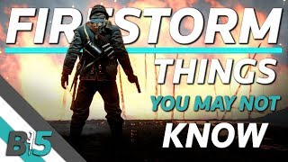 Battlefield V Firestorm | Things You May NOT Know!