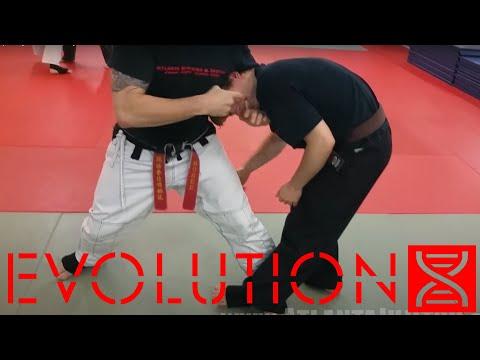 Kempo-Jujitsu 'The Nasty' Guillotine Choke And Takedown