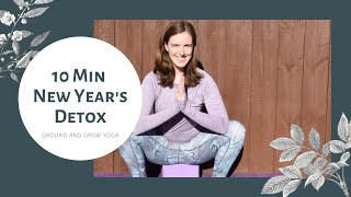 New Year's: 10 Minute Yoga Detox