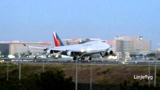Philippine Airlines Boeing 747-400@LAX