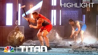 Atlas Smash Tests the Wills of Two Insanely Strong Competitors - Titan Games 2019 (Highlight)