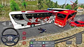 Bus Simulator Indonesia #9 ACCIDENTS! - Bus Game Android gameplay #busgames
