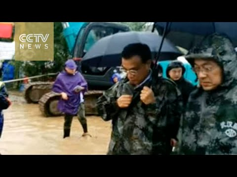 Premier Li arrives in Hubei to oversee flood rescue work