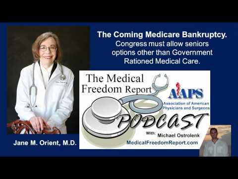 Medicare Becoming Bankrupt.  Seniors deserve options not rationing.