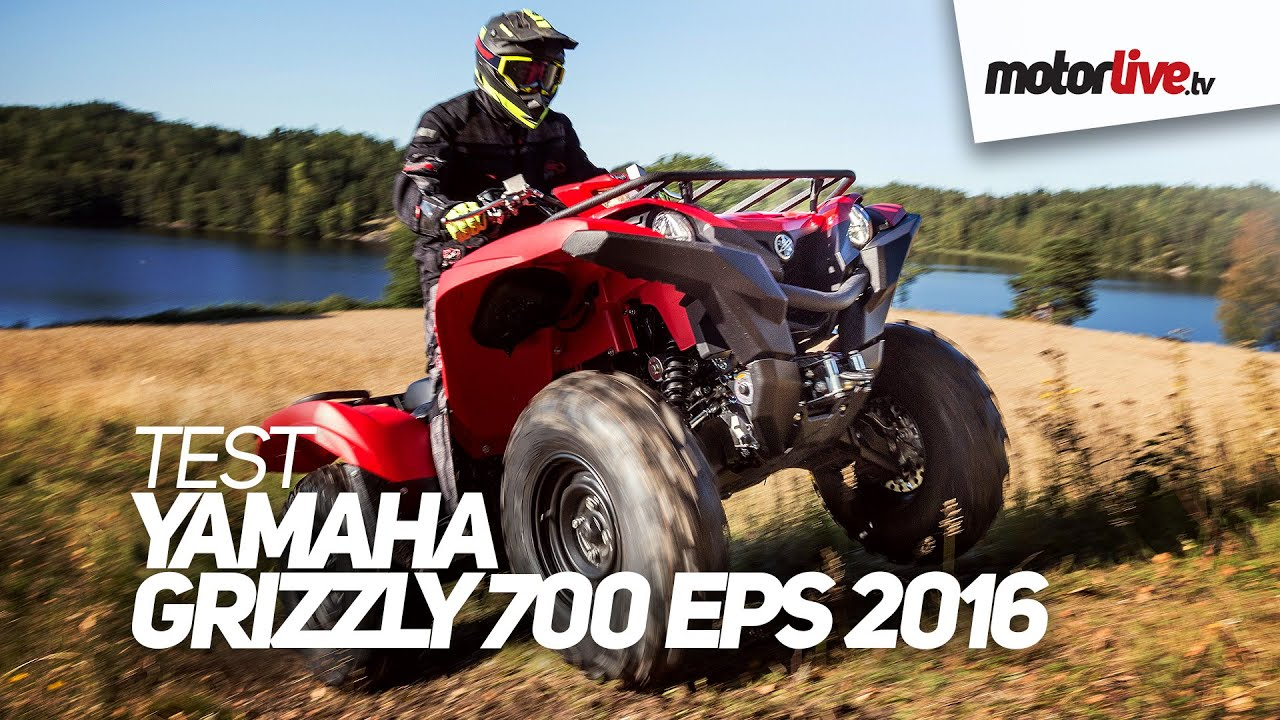 TEST | YAMAHA GRIZZLY 700 EPS 2016