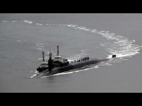 USS Michigan nuclear sub arrives in South Korea amid rising tensions