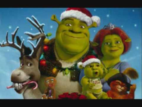 Shrek Christmas.Shrek Christmas Song