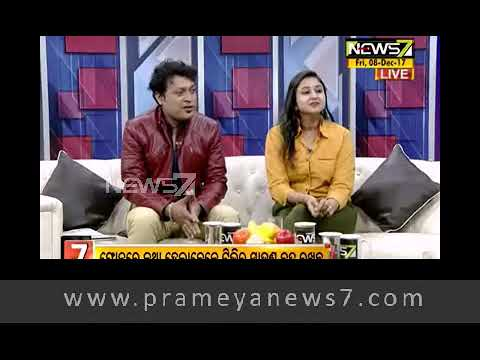 Breakfast Odisha with Actor Akshaya Bastia (08.12.17)