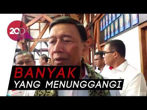 Wiranto Bahas Pembakaran Bendera HTI Bareng Pimpinan Ormas