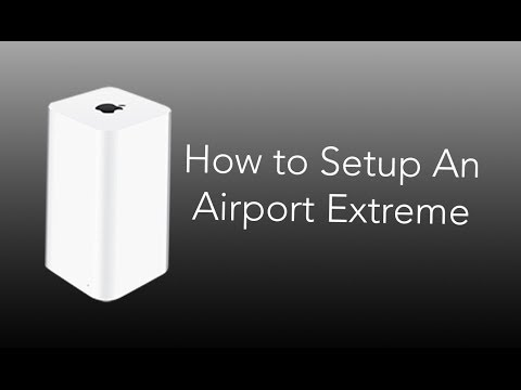 apple airport hook up