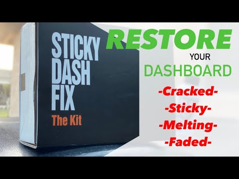 How To RESTORE Your Cracked, Melting, & STICKY DASHBOARD | Toyota Lexus IS250 – Sticky Dash Fix 2.0