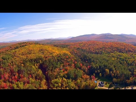 New Hampshire Route 110, Stark, NH, White Mountains - w/Yuneec Q500 Typhoon Drone