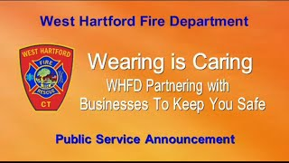 Wearing is Caring, Mask WHFD Partnership with Businesses
