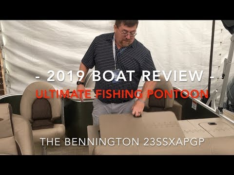 Ultimate Fishing Pontoon Bennington - 2019 Review - By Tony Hodge Of Futrell Marine