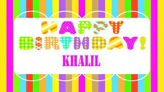 Khalil   Wishes & Mensajes - Happy Birthday
