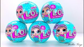 😍POUPEES LOL SURPRISE😍 LIL OUTRAGEOUS LITTLES SURPRISE DOLLS😍 BOULES SURPRISES LOL EN FRANÇAIS