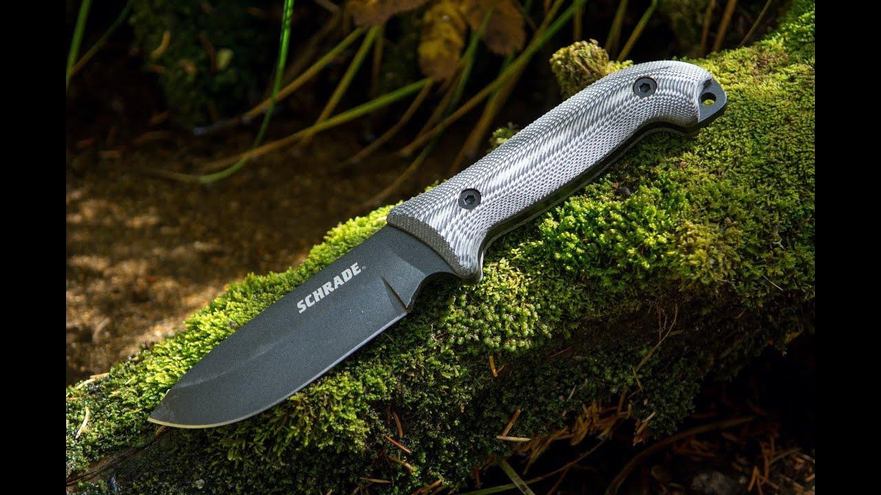 New Schrade Schf51m Frontier Bushcraft Survival Knife