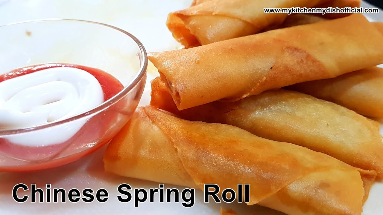 how to make chinese spring rolls at home