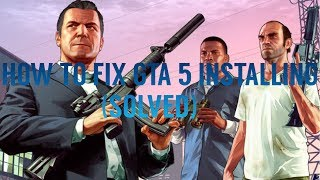 How to fix gta 5 installing on PS4 (SOLVED)