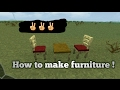 How to make furniture in Survival Craft
