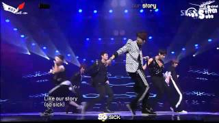 [Vietsub] [Debut Stage] SBS Inkigayo Bad Girl