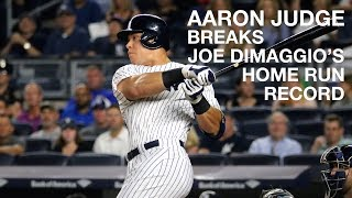 Yankee Game Vlog: Aaron Judge Homerun Breaks Joe DiMaggio Record + Rain Delay   July 7, 2017