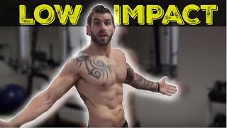 Top 10 Exercises - 15 Minute Low Impact Home HIIT Workout - (bodyweight only)