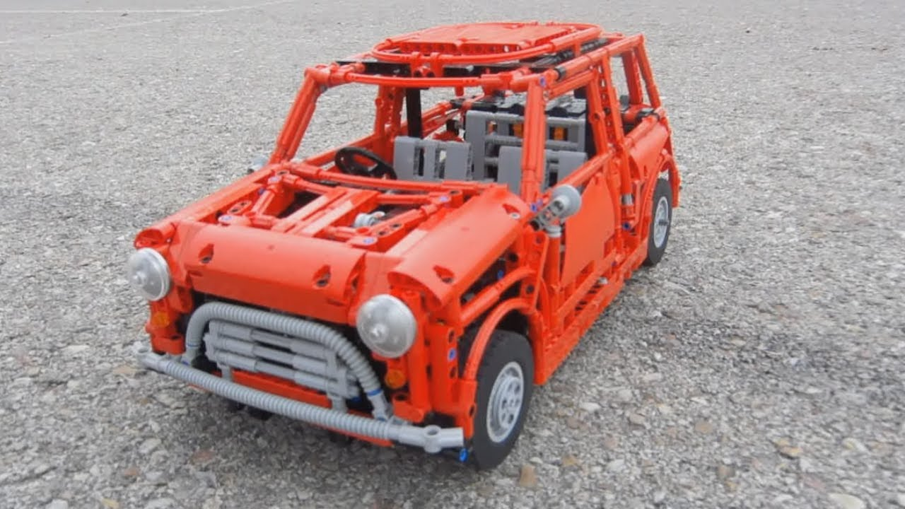 lego mini cooper mark i full remote controlled by sheepo. Black Bedroom Furniture Sets. Home Design Ideas