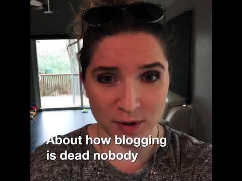 Blogging is Dead?