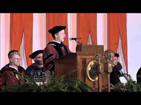 McCombs School of Business MBA Spring Convocation- May 16, 2014