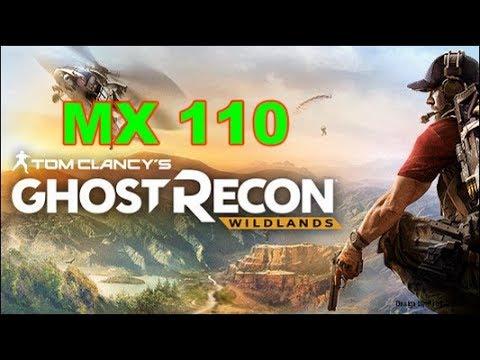 Ghost Recon Wildlands Gaming MX 110 Benchmark |