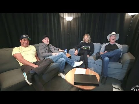The Early 2018 Metallica Round Table Chat by Steffan Chirazi [Full Interview]