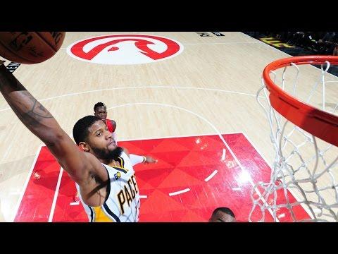 Paul George Drops 34 points vs Atlanta Hawks In Pacers Win
