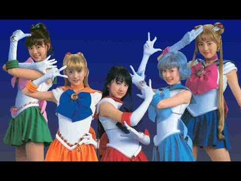 Sailor Moon Live Action - Super Dance Lesson ( pretty guardian 美少女戦士セーラームーン