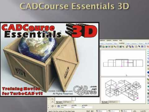 TurboCAD Tutorial Movies for Beginner and Advanced Users