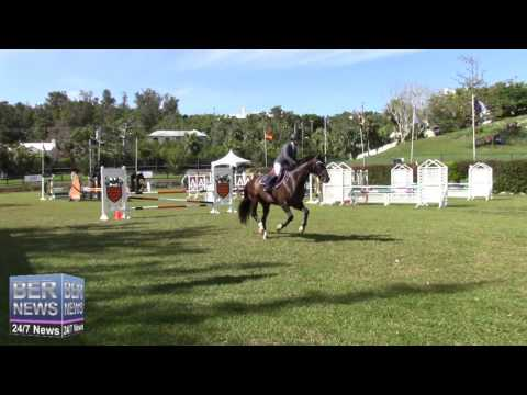 Horse Jumping At Bermuda Ag Show, April 2016