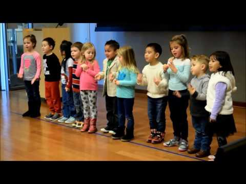 "West Sacramento Learning Ladder Preschool Students Sing ""Recycle"" Song"