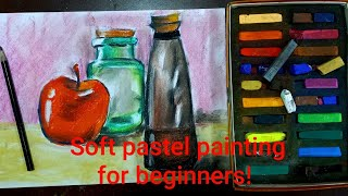 Soft Pastel Still Life Painting | Soft Pastel Painting For Beginners | Online Class