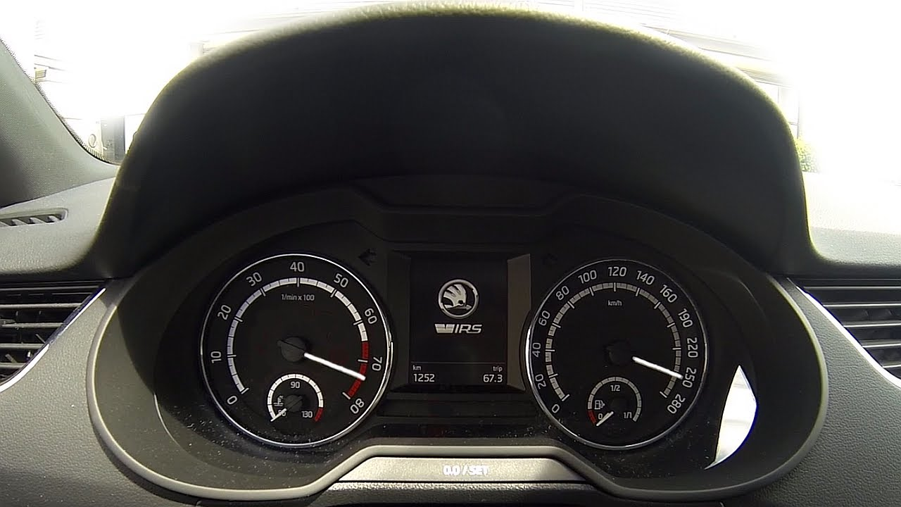 Skoda Octavia RS TSI Acceleration 0-249km/h and top speed ...