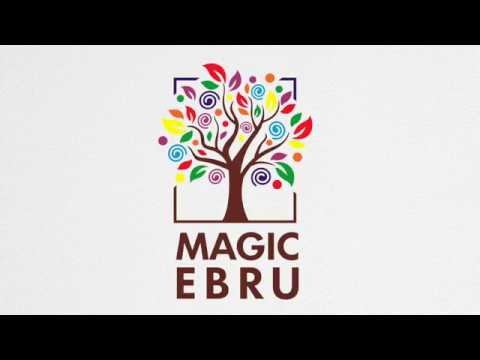 Magic EBRU Урок № 2  Рисуем на воде 'Перья павлина'