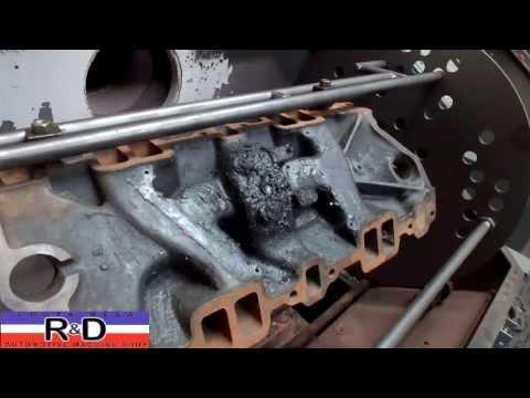 SBC Thermal Cleaning Intake Manifold