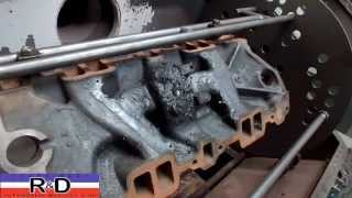 SBC Thermal Cleaning Intake Manifold
