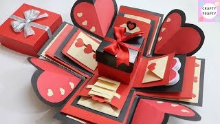 How to make Explosion box DIY Valentine 39 s Day Explosion Box Explosion Box Tutorial