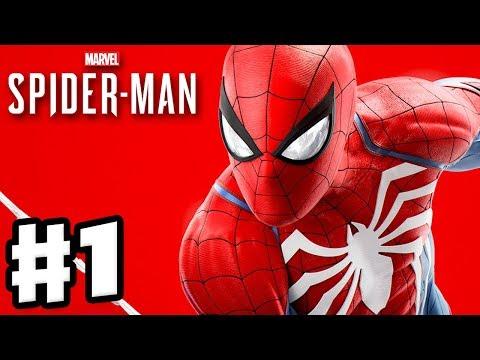 Spider-Man - PS4 Gameplay Walkthrough Part 1 - Worlds Collide Intro! Wilson Fisk!