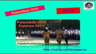 Pelantikan OSIS 2019  di SMP N 8 Salatiga