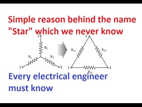 """Secret behind the name """"Star"""" in electrical engineering 