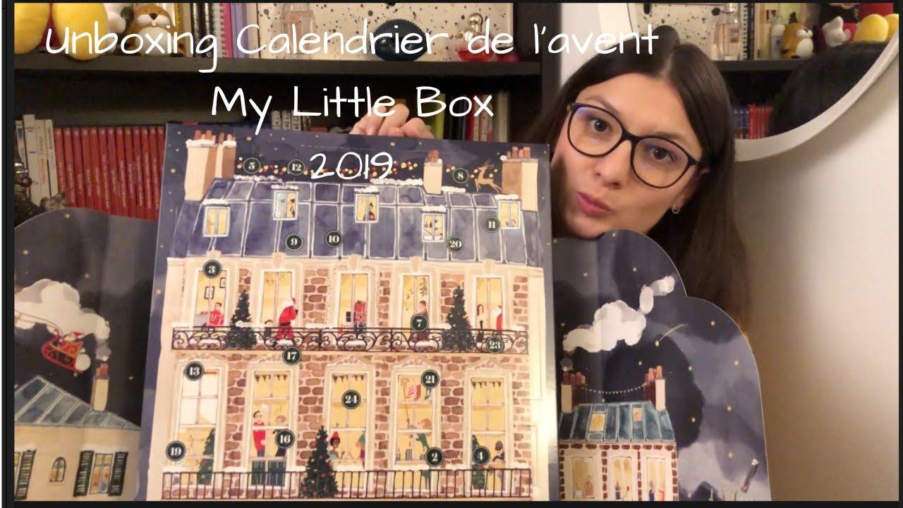 Unboxing Calendrier de l'avent My Little Box 2019   YouTube
